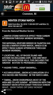 WJAR Radar- screenshot thumbnail
