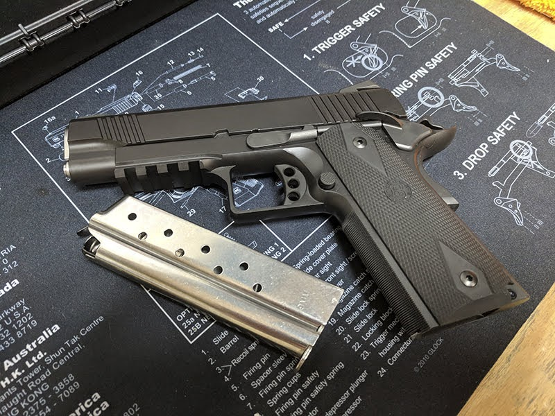Stealth Arms 9mm 1911 80% Square Trigger Guard Complete Build Kit