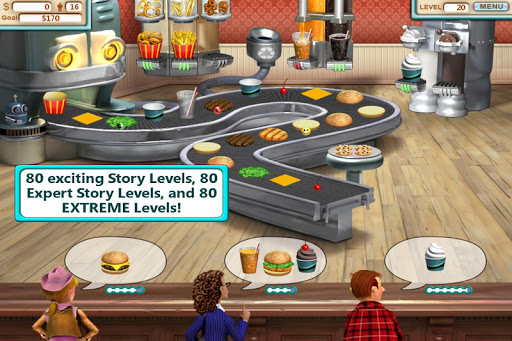 Burger Shop - Free Cooking Game apkpoly screenshots 6