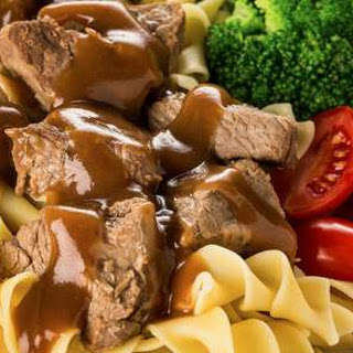 Beef Tips and Gravy.