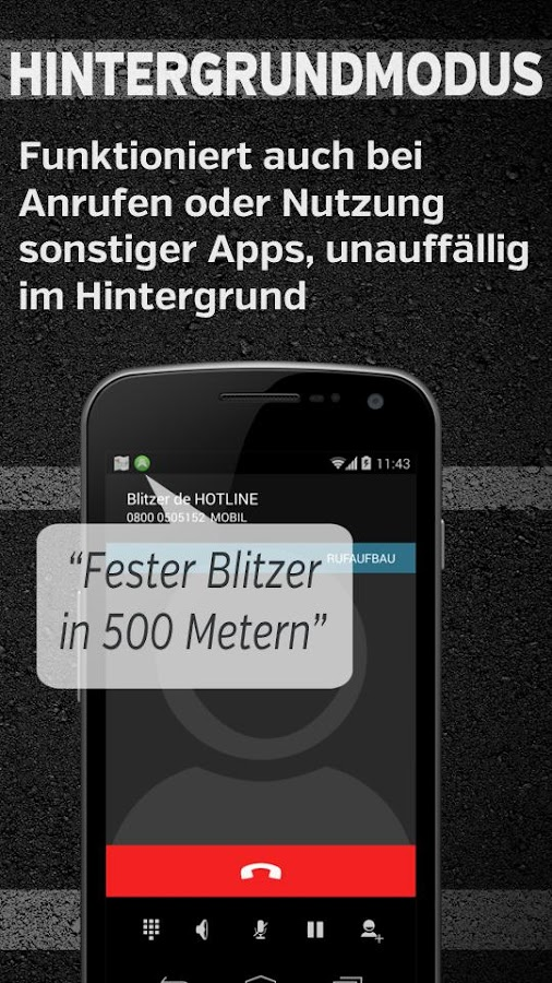 Blitzer.de PLUS – Screenshot