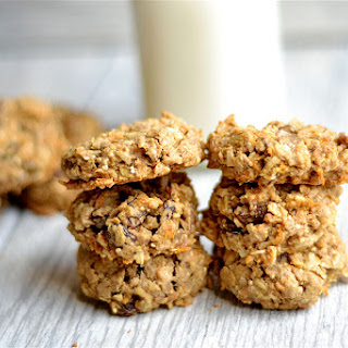 Healthy Carrot Cake Breakfast Cookies.