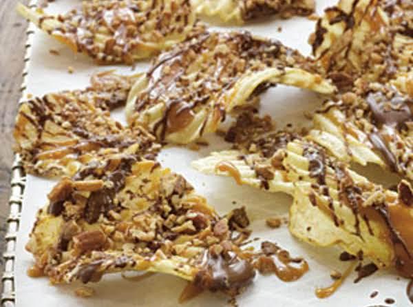 Chocolate-caramel-pecan Potato Chips Recipe