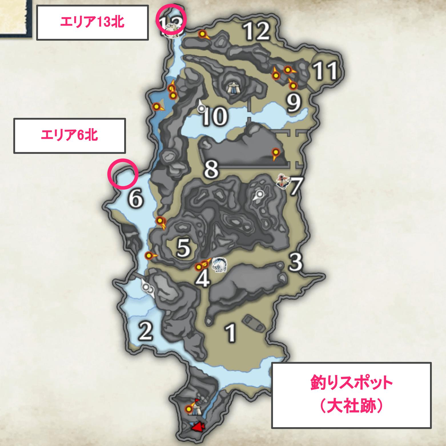 釣りマップ_大社跡