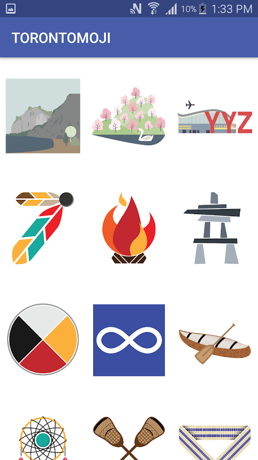 TORONTOMOJI Sticker Pack- screenshot