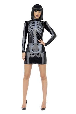 Skelettklänning, kort