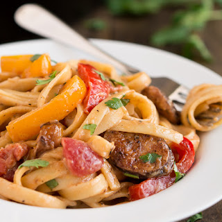 Creamy Cajun Pasta with Smoked Sausage
