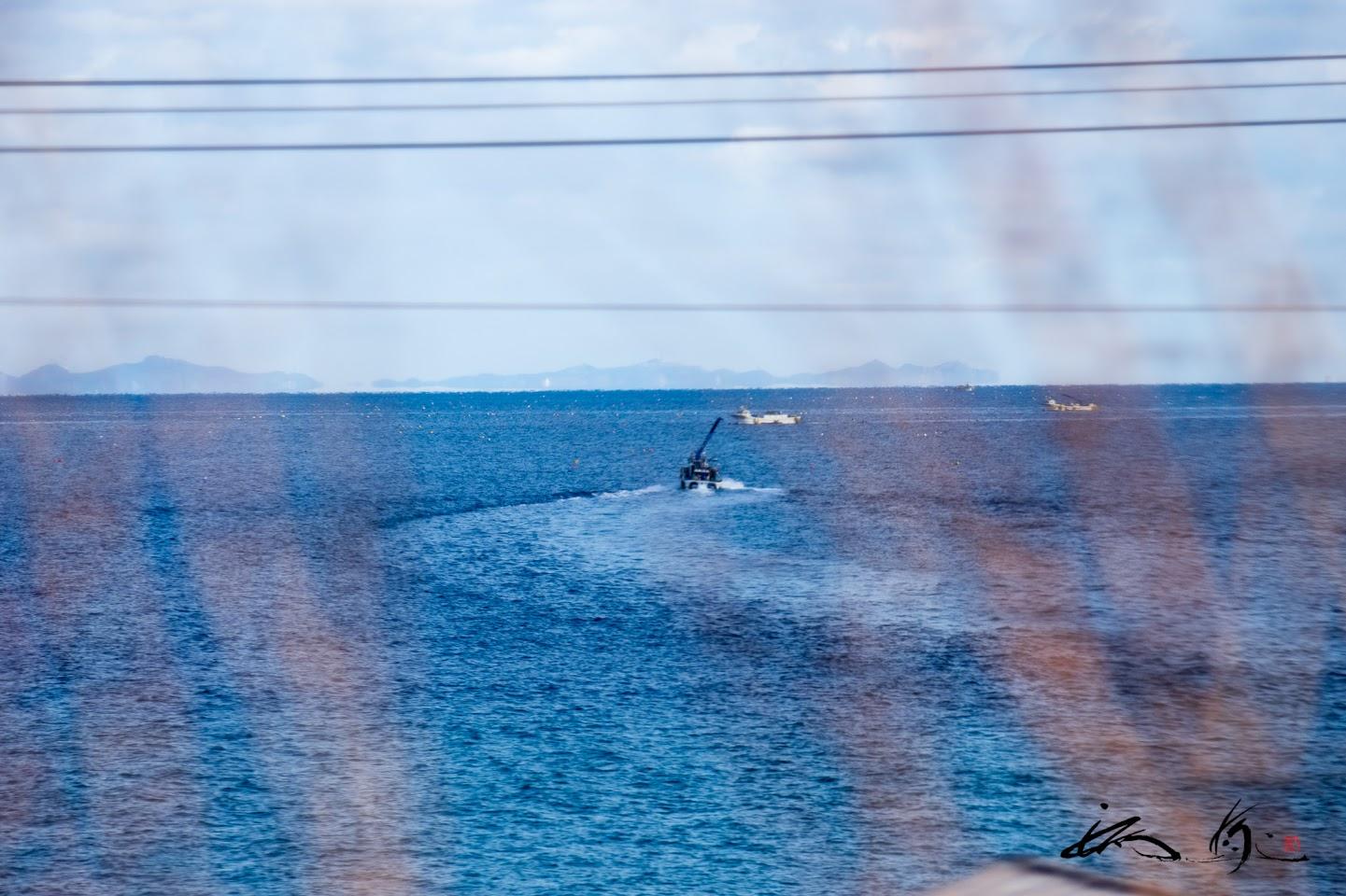 太平洋を望む