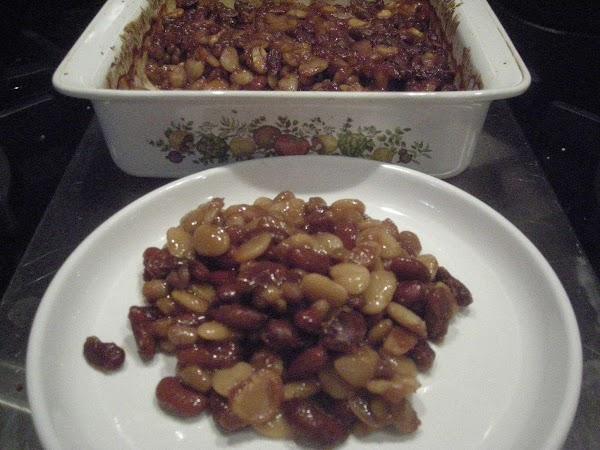 Three Bean Baked Beans Recipe