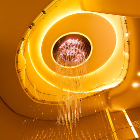 Fire In The Sky by Johannes Schaffert - Buildings & Architecture Other Interior (  )