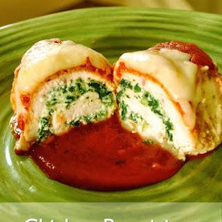 Chicken Parmigiana Rollatini