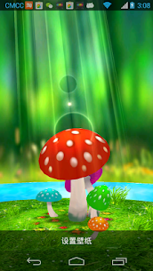 Mushrooms 3D Live Wallpaper Apk Latest Version Download For Android 3