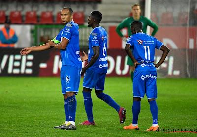 Gand a concédé le match nul 2-2 contre Zulte Waregem