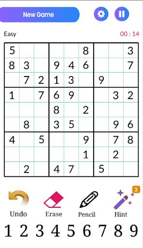 Sudoku Classic  screenshots 1
