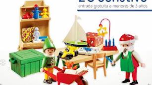 Cartel de la Exposición de Playmobil a favor de ARGAR.