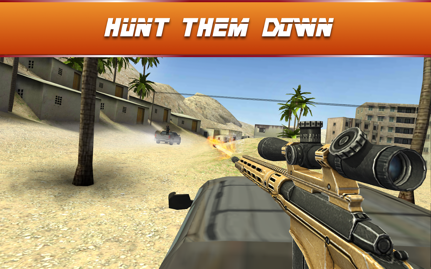 Sniper Ops 3D - Shooting Game- screenshot