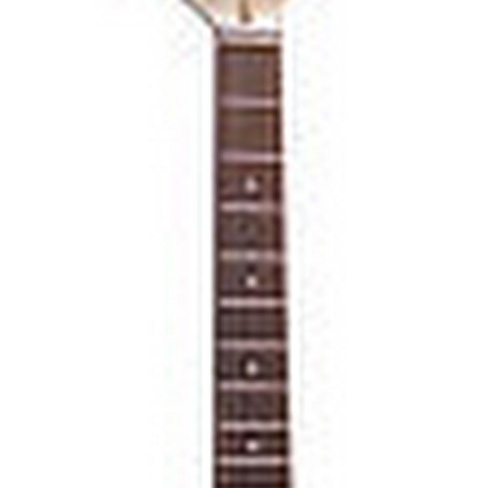 Chitarra elettrica stile Stratocaster bianca