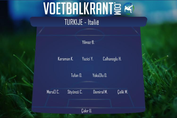 Turkije (Turkije - Italië)