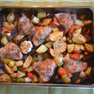 Chicken and Chorizo One Pot Bake Recipe