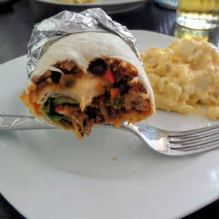 Beef and Bean Burritos.