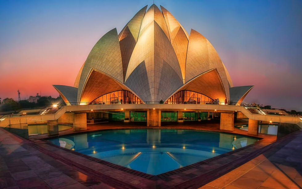 Image result for lotus temple