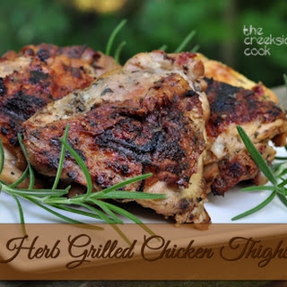 Herb Grilled Chicken Thighs