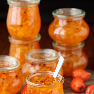Pineapple Habanero Pepper Jelly.