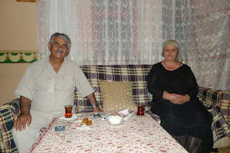 Photo: Tilki with his wife Fatma. There is no one in Bazit who does not know Tilki. The friend of tourists (including the poor Polish ones) and of people he is the best guide for Kurdistan and for it's sad and amusing stories. Bazit 2013