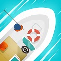 Hooked Inc: Fishing Games icon