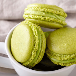 Green Tea Macarons.