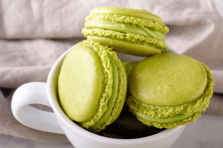 Green Tea Macarons Recipe
