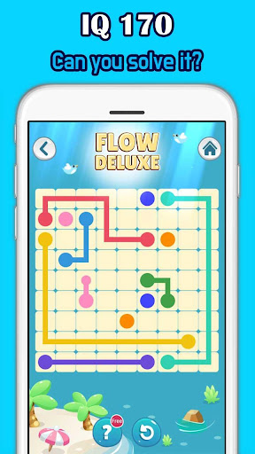 Color Link Deluxe - Line puzzle - screenshot