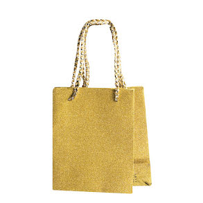 Presentpåse, liten guld