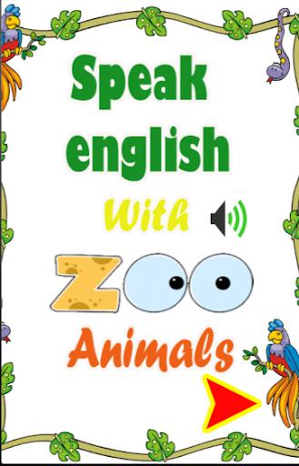 動物と英語を話します