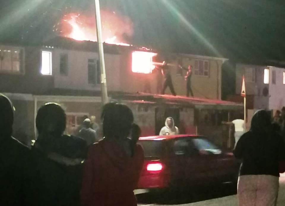 Homes of 'drug dealers' torched after murder of Cape Town girl, 7 - SowetanLIVE