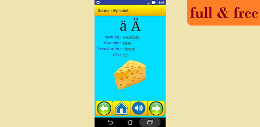 German alphabet for university students - Apps on Google Play