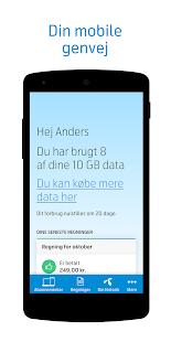 Mit Telenor DK - náhled