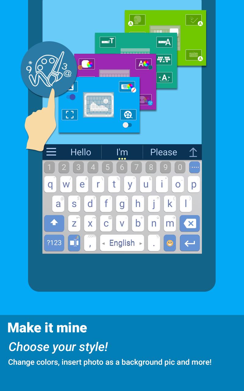 ai.type keyboard Plus + Emoji Screenshot 14
