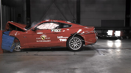 Another dummy? Ford's Mustang scored a low two stars in Euro NCAP's safety test Picture: SUPPLIED