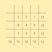 Math Magic Square