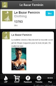 Le Bazar Feminin screenshot 2