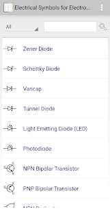 Electrical Symbols for Electronics App Download for Android 1