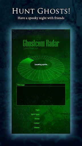 Screenshot for Ghostcom Radar Pro in United States Play Store