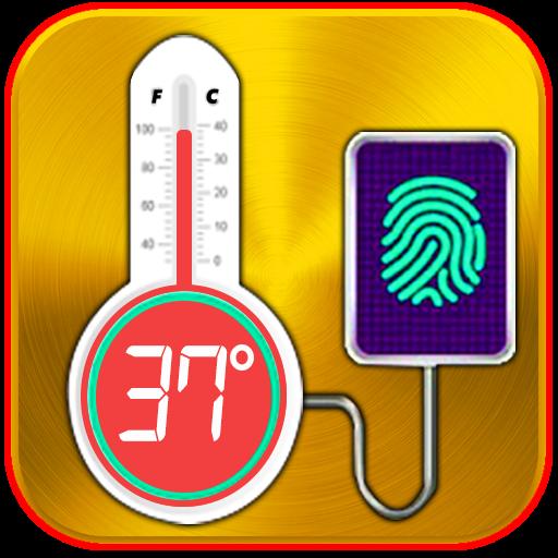 Finger Body Temperature Prank 2017
