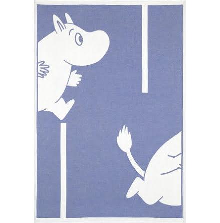 Ekelund Barnfilt Moomin Goes Blue