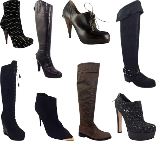 Designer Boots at Style Therapy