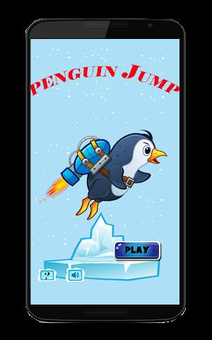 android Pinguin-Kampf springen Screenshot 0