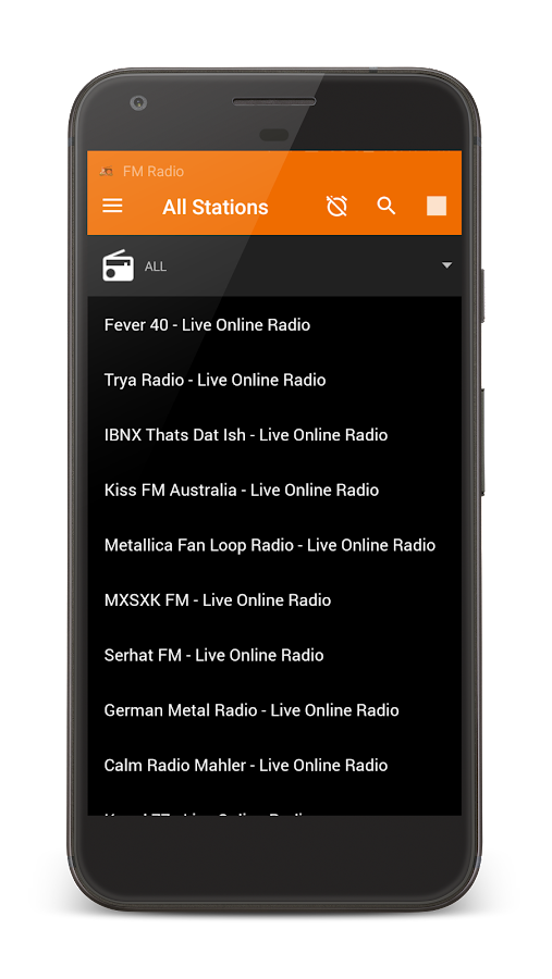 FM Radio- screenshot