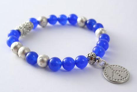 Armbandet Blue Peace