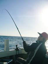 """Photo: 釣り師の""""戸田さん""""も!"""